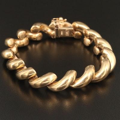 10K San Marco Link Bracelet