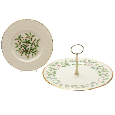 "Lenox ""Holiday"" Bone China Serveware"