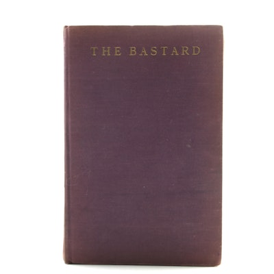 "Limited First Edition ""The Bastard"" by Erskine Caldwell"