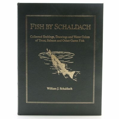 "Finely Bound ""Fish by Schaldach"" by William Schaldach, Limited Edition"