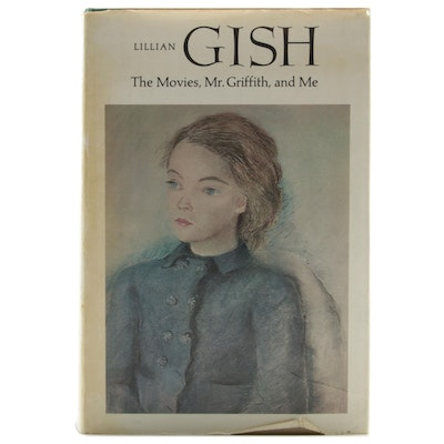 "Signed First Edition ""Lillian Gish: The Movies, Mr. Griffith and Me"" by Gish"