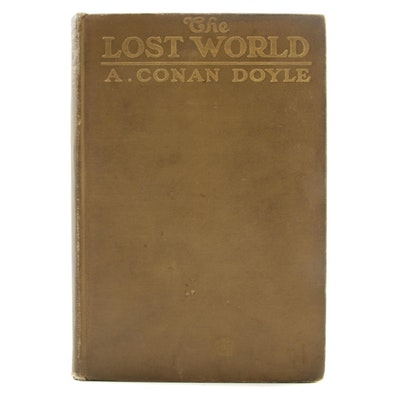 "1912 First American Edition ""The Lost World"" by Sir Arthur Conan Doyle"