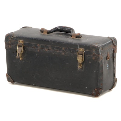 Hinged Travel Case, Early 20th Century