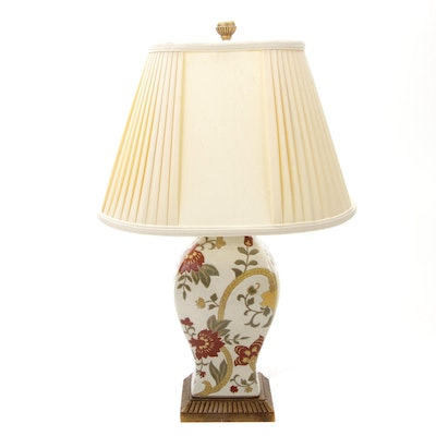 Converted Vase Table Lamp