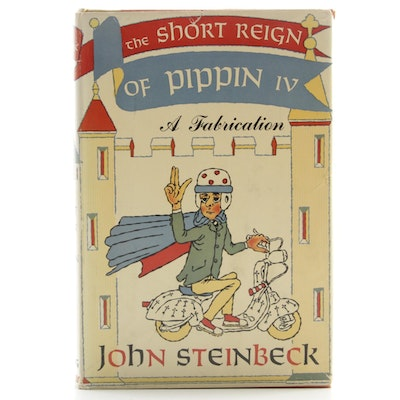 "First Edition ""The Short Reign of Pippin IV"" by John Steinbeck with Dust Jacket"