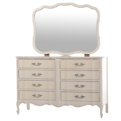 Drexel Painted French Provincial Style Chest of Drawers