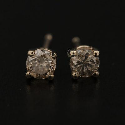 14K 0.47 CTW Diamond Stud Earrings