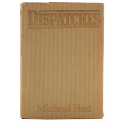 "First Edition ""Dispatches"" by Michael Kerr with Original Dust Jacket"