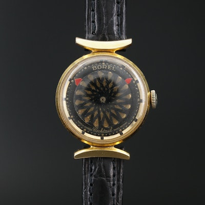 "Ernest Borel ""Cocktail"" Kaleidoscope Watch, Vintage"