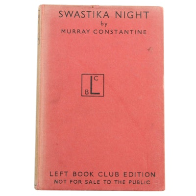 "1940 First Edition ""Swastika Night"" by Murray Constantine"