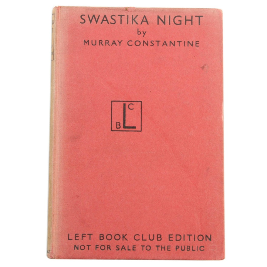 """1940 First Edition """"Swastika Night"""" by Murray Constantine"""