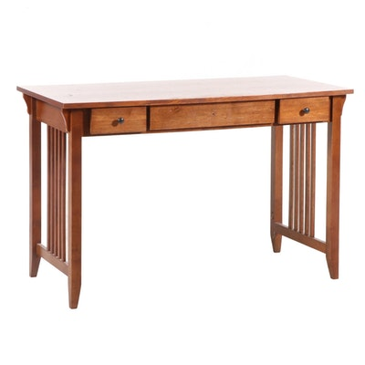 Arts & Crafts Style Desk, Mid to Late 20th Century