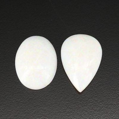 Loose 23.70 CTW Cabochon Opals