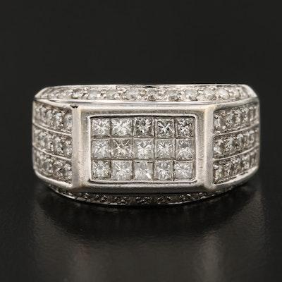 14K Gold 1.98 CTW Diamond Ring