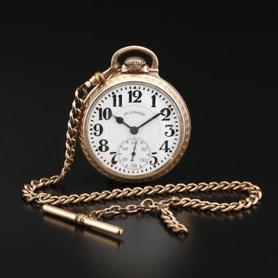 "1929 Illinois ""Bunn Special"" Sixty Hour Pocket Watch"