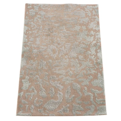 "3'8 x 5'8 Hand-Tufted Indian Safavieh ""Hojan"" Wool Area Rug"
