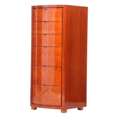 Contemporary Lacquered Chest of Drawers