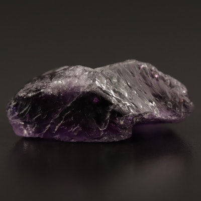 Loose 48.00 CT Rough Cut Amethyst