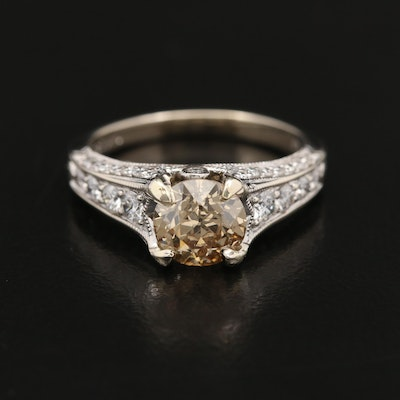 14K 1.76 CTW Diamond Ring