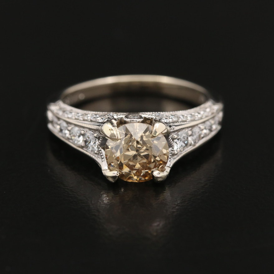 14K 1.76 CTW Diamond Ring