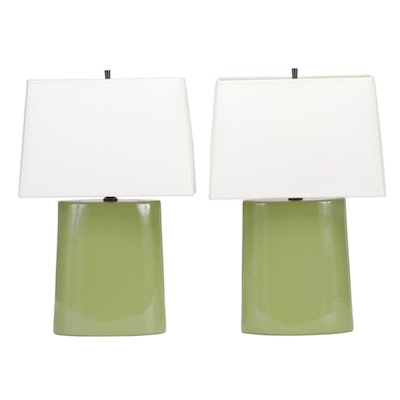 Robert Abbey Ceramic Table Lamps