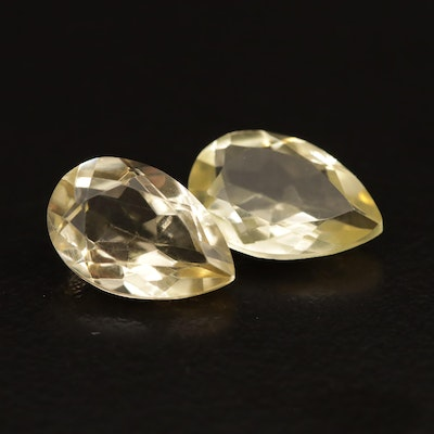 Loose 5.72 CTW Faceted Citrine