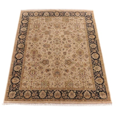 8'0 x 10'9 Hand-Knotted Persian Tabris Wool Rug
