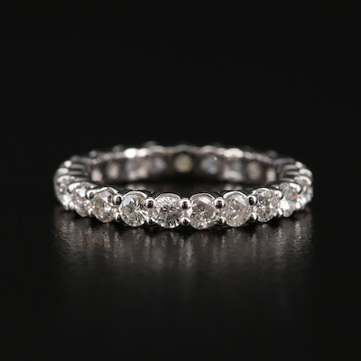 18K Gold 1.52 CTW Diamond Infinity Band
