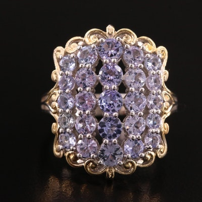 Sterling Tanzanite Ring