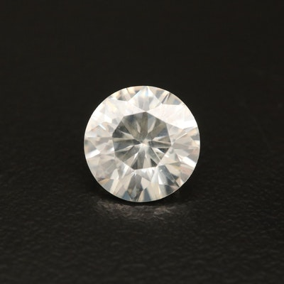 Loose 1.78 CT Round Faceted Moissanite