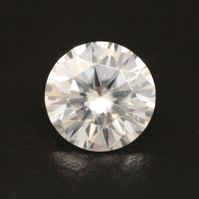 Loose 2.50 CT Moissanite Round Faceted
