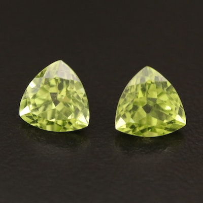 Loose 3.19 CTW Matched Peridots