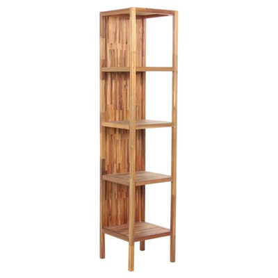 "Uttermost ""Gunnar"" Large Bookshelf in Teak"