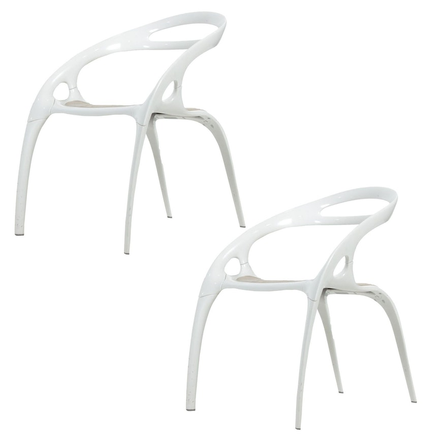 "Pair of Ross Lovegrove for Bernhardt Design ""Go"" Chairs"