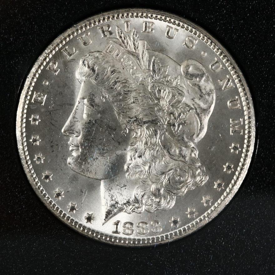 GSA Uncirculated 1883-CC Morgan Silver Dollar