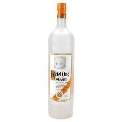 4.50 Liter Ketel One Oranje Vodka Store Display Bottle