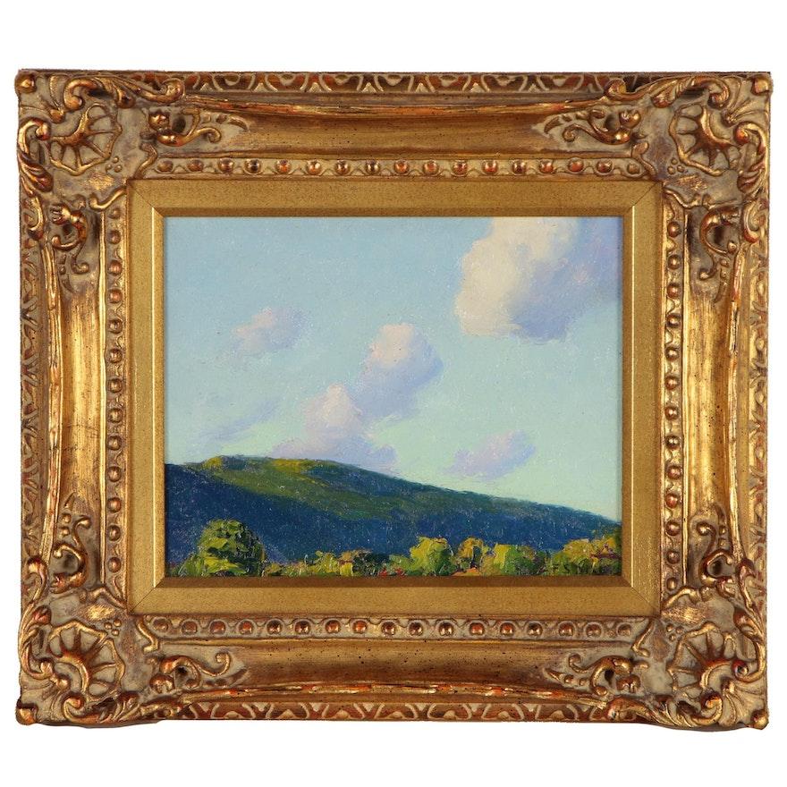 Francis Dixon Landscape Oil Painting