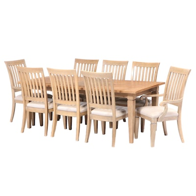 Lacquered Craft Furniture Contemporary Dining Set