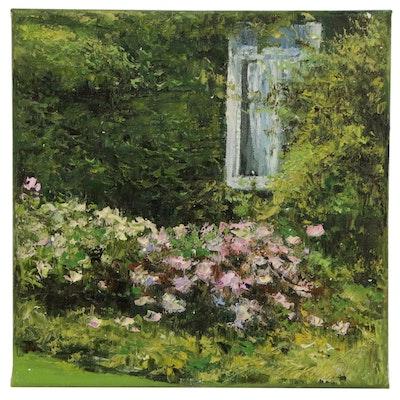 "Garncarek Alexsander Oil Painting ""Pod Okienkiem"", 2020"