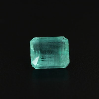 Loose 2.57 CT Emerald with GIA Report