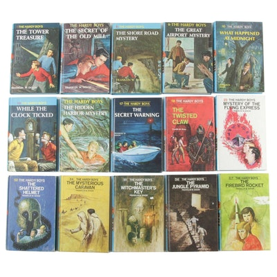"""The Hardy Boys"" Series by Franklin W. Dixon, 1959–1978"