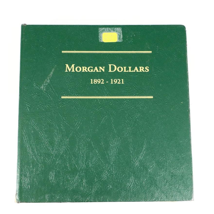 Littleton Binder of Morgan Silver Dollars, 1892 to 1921