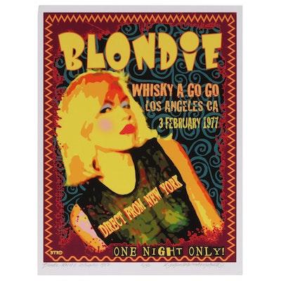 "David Edward Byrd Giclée ""Blondie at the Whisky 1977"", 2020"