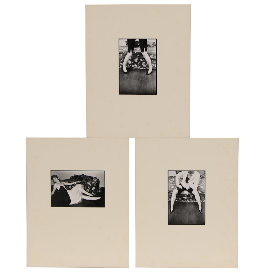 Blair Gibeau Figural Black and White Photographs, Late 20th Century