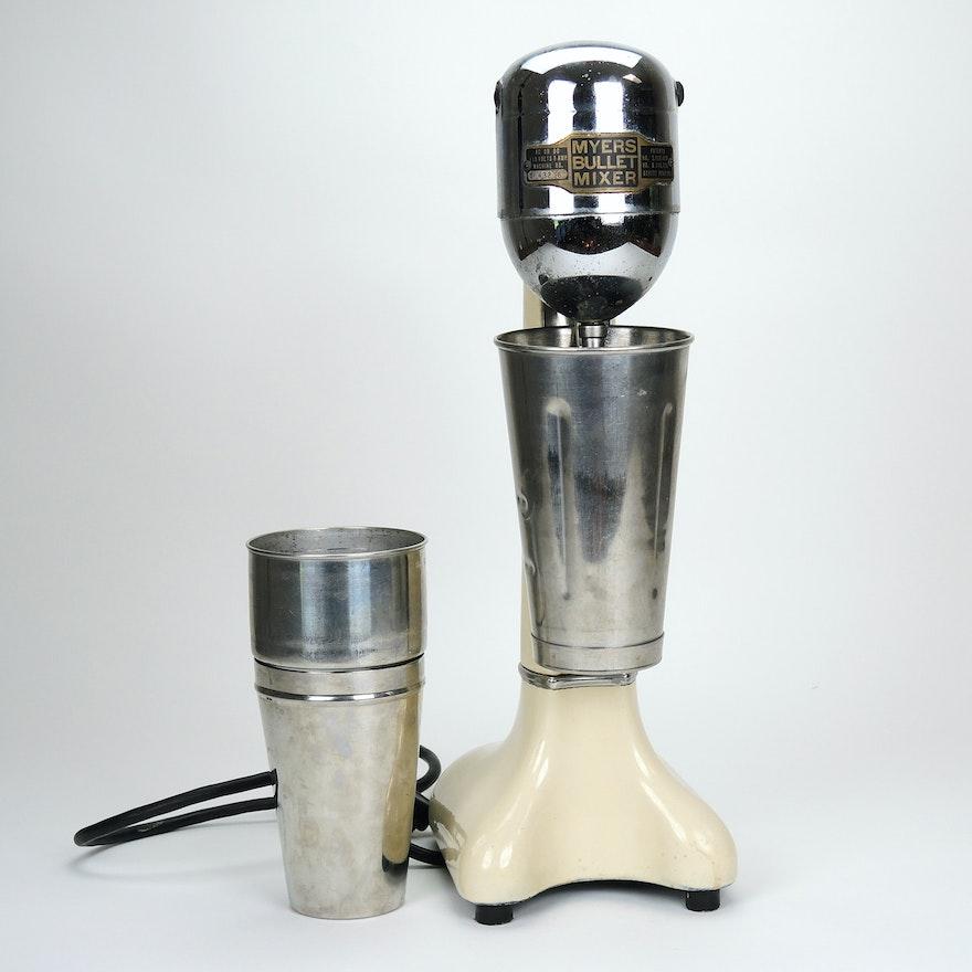 """Myers """"Bullet"""" Milkshake Mixer, Mid-20th Century"""