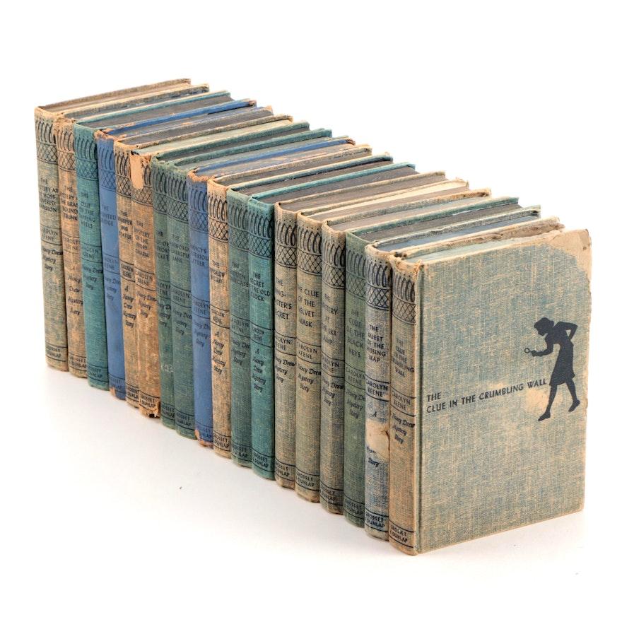 """Nancy Drew"" Mystery Book Series by Carolyn Keene, Mid-20th Century"
