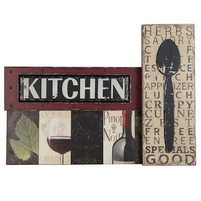 Kitchen Themed Wall Decor