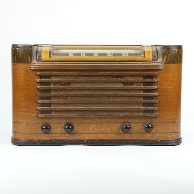 "Warwick ""Clarion C-104"" Radio, circa 1946"