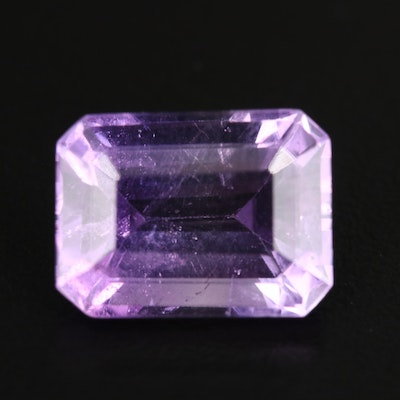 Loose 10.10 CT Rectangular Amethyst