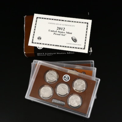 Key Date 2012 U.S. Mint Proof Set